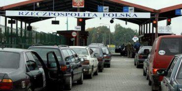 Назвали причини довжелезних черг на польському кордоні