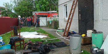 Рятувальники оприлюднили фото з пожежі, у якій загинули мати і трирічні близнюки. ФОТО