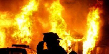 Вночі на Коломийщині згоріла господарська будівля
