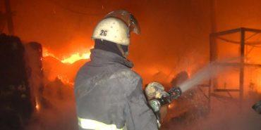 Вночі у Коломиї згоріла сауна