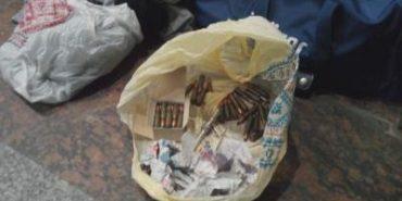 На львівському вокзалі виявили сумку з боєприпасами. ФОТО+ВІДЕО