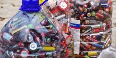 """""""За чисте довкілля"""": у Коломиї студенти впродовж року збирали використані батарейки"""