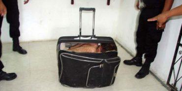 20-річна українка намагалася перетнути кордон у валізі. ФОТО+ВІДЕО