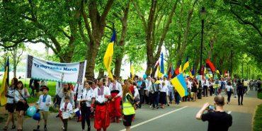 Мешканці Коломийщини взяли участь у Марші вишиванок у Лондоні. ФОТО