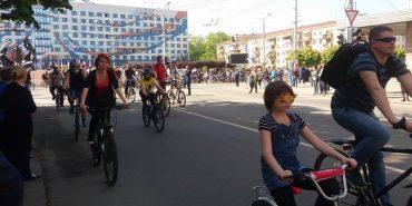 До велопробігу з нагоди 355-річниці міста долучилися тисячі іванофранківців. ФОТО