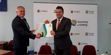 Підписано угоду про партнерство між Коломиєю та польською Ломжею. ФОТО