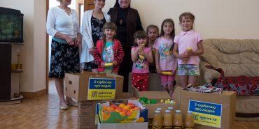 До Дня захисту дітей сиротинець святого Миколая у Коломиї отримав подарунки від доброчинців. ФОТО