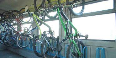 Від сьогодні у двох регіональних поїздах з'являться вагони для перевезення велосипедів. ФОТО
