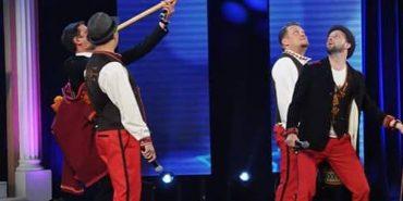 """Колоритні """"Дикі Гуцули"""" з Коломиї пройшли до 1/4 фіналу регіональної Одеської """"Ліги Сміху"""". ФОТО+ВІДЕО"""