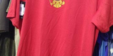 """У Коломиї в магазині """"Єврошоп"""" продають футболку з гербом Росії. ФОТО"""