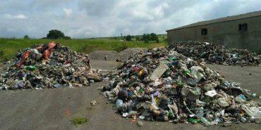 В прикарпатській ОТГ незаконно вивантажили близько 120 тонн львівського сміття. ФОТО