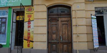 Давні двері в Коломиї: реставрація чи заміна. ФОТО