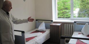 У військовому госпіталі в Коломиї відреставрували й оснастили сучасним обладнанням кабінети і палати за 471,5 тис. грн