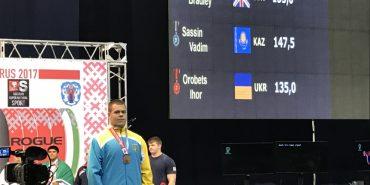 Ігор Оробець з Коломиї виборов дві бронзові нагороди на світовому чемпіонаті з пауерліфтингу. ФОТО