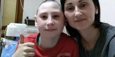12-річному коломиянину Андрію Рощіну потрібна термінова допомога, щоб перемогти рак