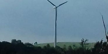 На Франківщині розпочали будівництво вітряної електростанції. ФОТО