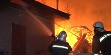 На Франківщині у пожежі постраждала жінка