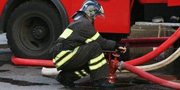 У Коломиї на території м'ясокомбінату виникла пожежа