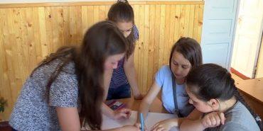 Коломийські учні удосконалюють знання англійської у пришкільних таборах. ВІДЕО