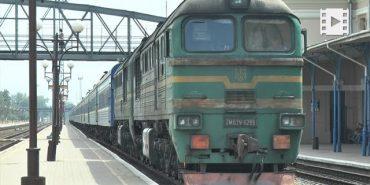 Через повінь на Прикарпатті рух потягів на ділянці Ворохта – Івано-Франківськ призупинено. ВІДЕО