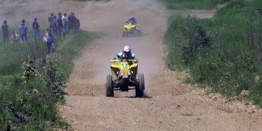 На Коломийщині відбулися змагання за Кубок України з мотокросу. ВІДЕО