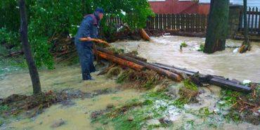 На Коломийщині тривають роботи з ліквідації стихії, яку спричинили сильні дощі