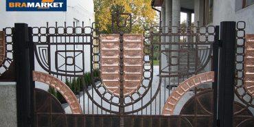 Ковані ворота в Луцьку від brama-market.lviv.ua: 7 переваг відкатних воріт
