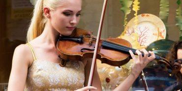Скрипалька з Прикарпаття виступить разом з Андреа Бочеллі