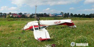 У поліції розповіли подробиці падіння літака на Коломийщині. ФОТО