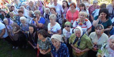 На прощу родин на Прикарпатті одночасно зібралися 200 жінок на ім'я Марія. ФОТО