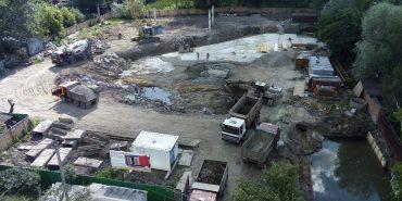 Мешканці Петлюри потерпають від будівництва багатоповерхівки, яку зводять на місці старої котельні