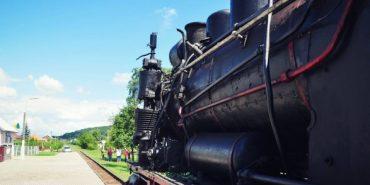 В Карпатах запустили перший в Україні потяг з ретро-паровозом. ФОТО