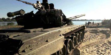 10 бригада з Коломиї успішно подолала переправу через Дніпро на ділянці шириною майже 5 км. ФОТО