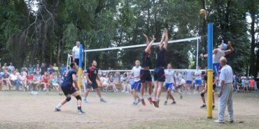 Міжнародний турнір з волейболу провели на Снятинщині