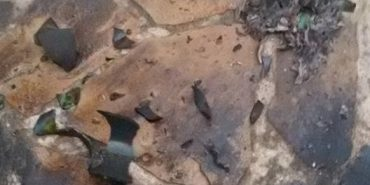 """На подвір'я депутата міської ради на Прикарпатті кинули """"коктейлі Молотова"""". ФОТО+ВІДЕО"""