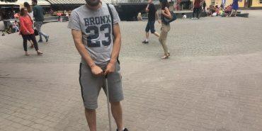 Сильні духом: прикарпатець Олег Сухарєв після поранення в АТО переніс 34 операції