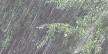 Мешканців Прикарпаття попереджають про сильні дощі, грози, град і шквали