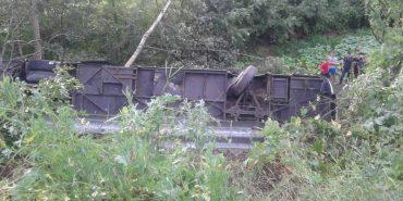 """Автобус з коломийськими туристами, який перекинувся на Тернопільщині, підозріло """"димів"""" на початку поїздки, – пасажир"""