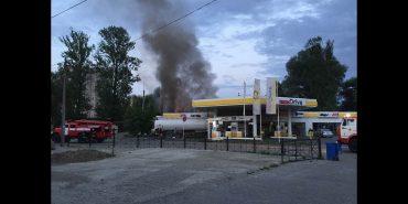 Пожежа на заправці в Коломиї: деталі та офіційні коментарі. ВІДЕО