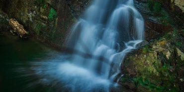 У мережу виклали відео невідомого водоспаду на Прикарпатті. ВІДЕО