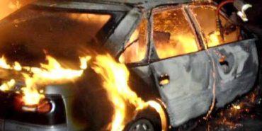 За минулу добу на Прикарпатті горіли дві автівки