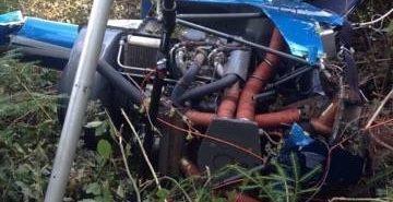 Правоохоронці шукають власника гелікоптера, який розбився на Прикарпатті. ВІДЕО