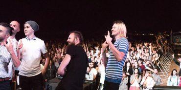 """Другий день яскравого фестивалю """"Drive for Life"""" у Коломиї: бої автомобілів та виступи гуртів """"Без обмежень"""" і """"Антитіла"""". ФОТОРЕПОРТАЖ"""