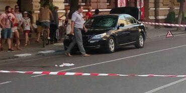 """У Франківську прокурорська """"BMW"""" збила пішохода"""