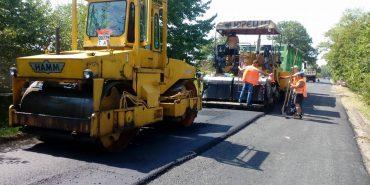 На Коломийщині триває ремонт дороги, яка сполучає Малий Гвіздець та Старий Гвіздець. ФОТО