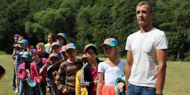У Підгайчиках оздоровлювались діти з соціальних центрів Івано-Франківської області. ФОТО