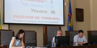 Сесія міської ради: депутати послухали Ігоря Слюзарa й відмовили Олександрі Базюк