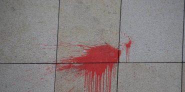 На Прикарпатті облили невідомою речовиною пам'ятник героєві ОУН-УПА