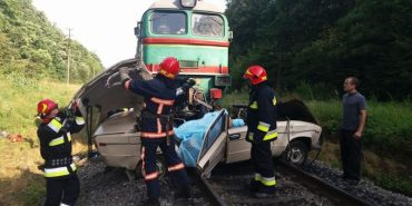 На Прикарпатті рух потягів затримали на 2 години внаслідок смертельної ДТП