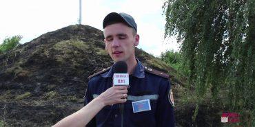 На Франківщині горіла могила борцям за волю та незалежність України. ВІДЕО